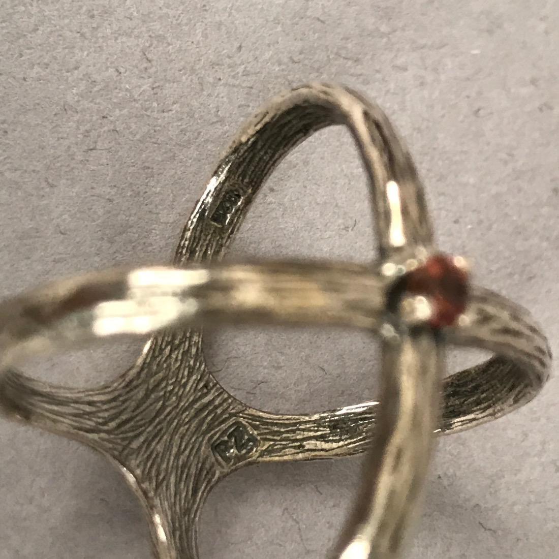 12 Sterlig Silver Rings - 5