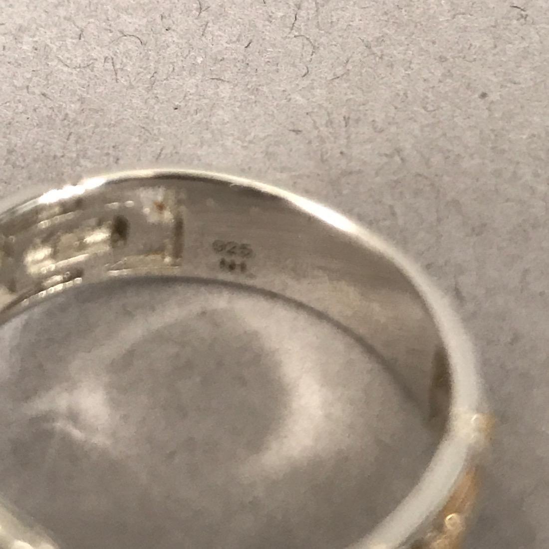 12 Sterlig Silver Rings - 6