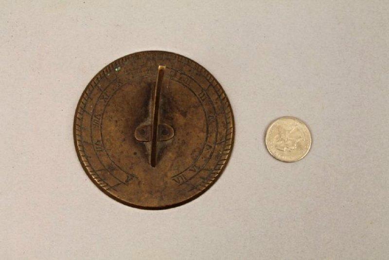 Small Bronze Sundial - 4