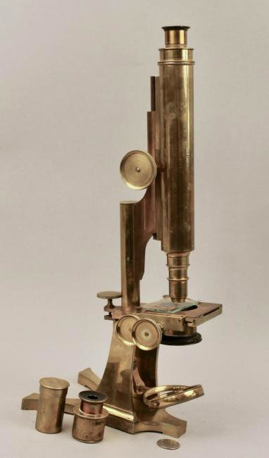 Smith Beck & Beck Brass Microscope