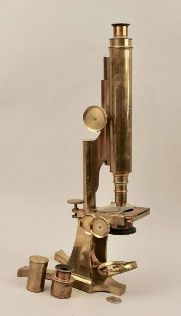 Smith Beck & Beck Brass Microscope - 2