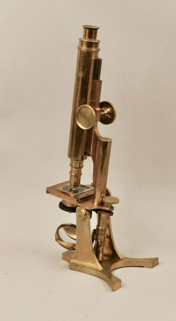 Smith Beck & Beck Brass Microscope - 3