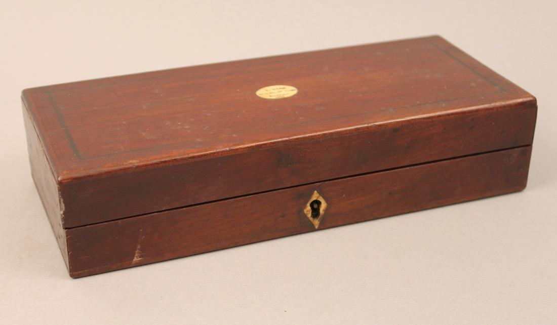 Antique Hydrometer Original Wood Box Alcohol Proof - 6