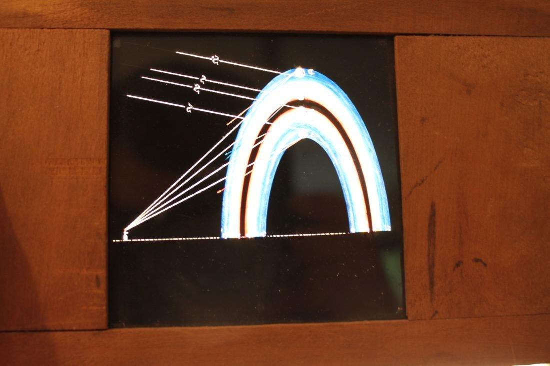 8 Chromatrope Firework Magic Lantern Slides - 10