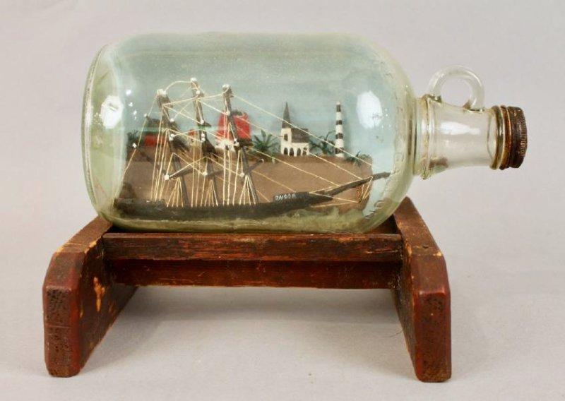 Ship in a Bottle Model