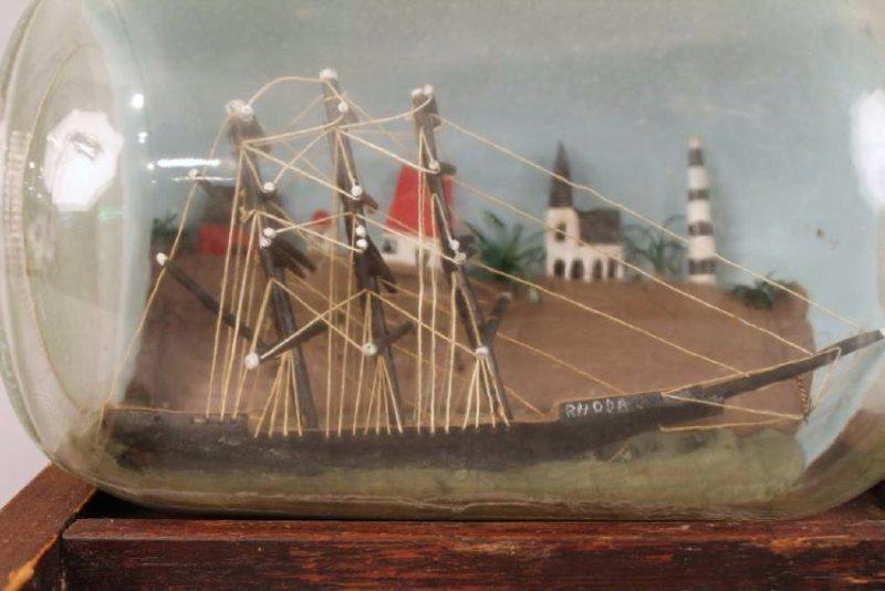 Ship in a Bottle Model - 2