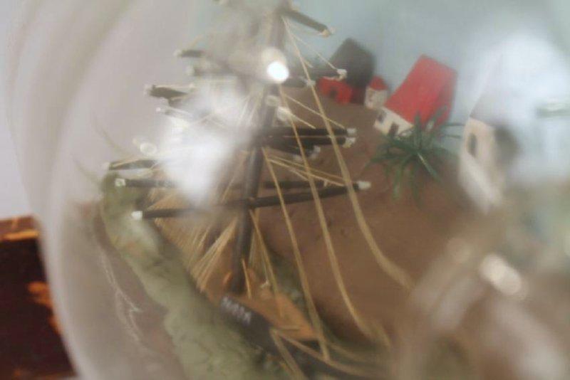 Ship in a Bottle Model - 4