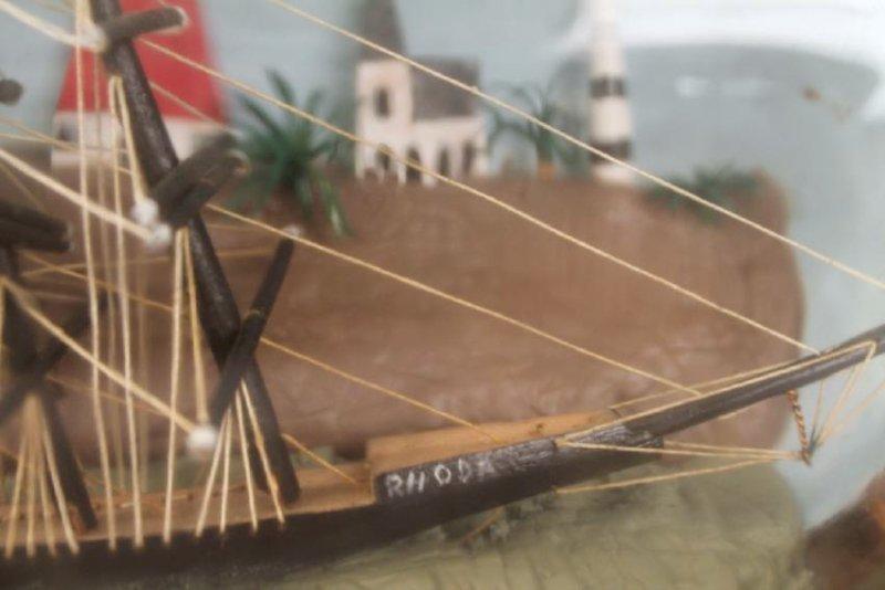 Ship in a Bottle Model - 6