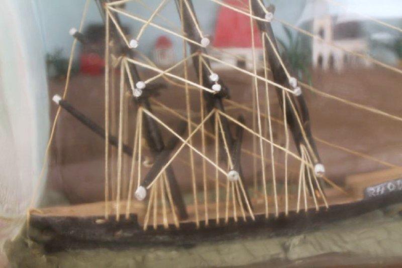 Ship in a Bottle Model - 7