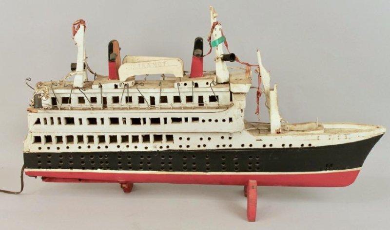 SS France Cruise Ship Model - 4