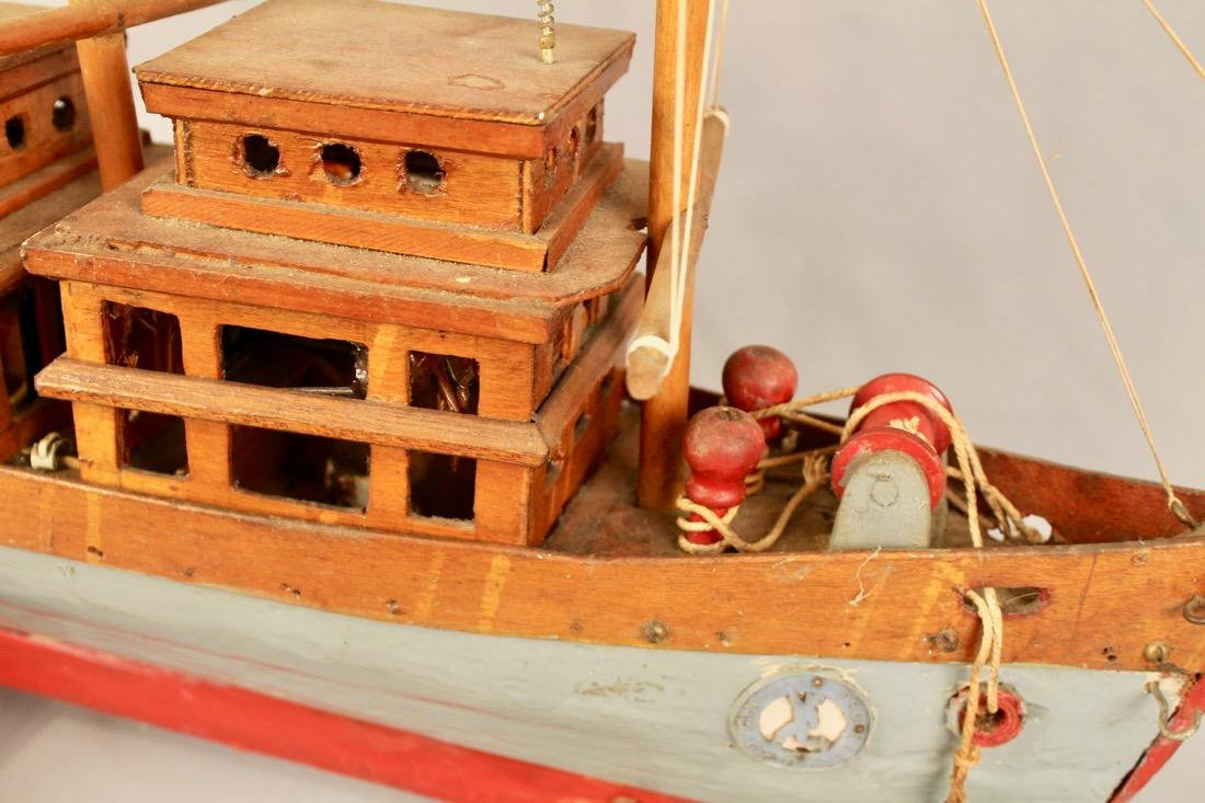 Three Masted Handmade Ship Model - 2