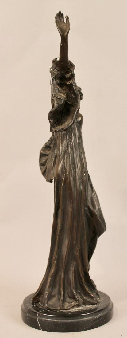 Bronze of Posing Woman signed - 5
