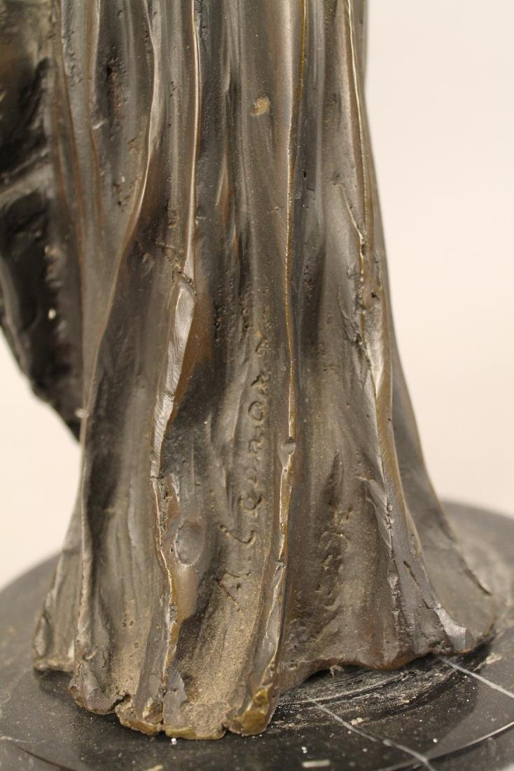 Bronze of Posing Woman signed - 6