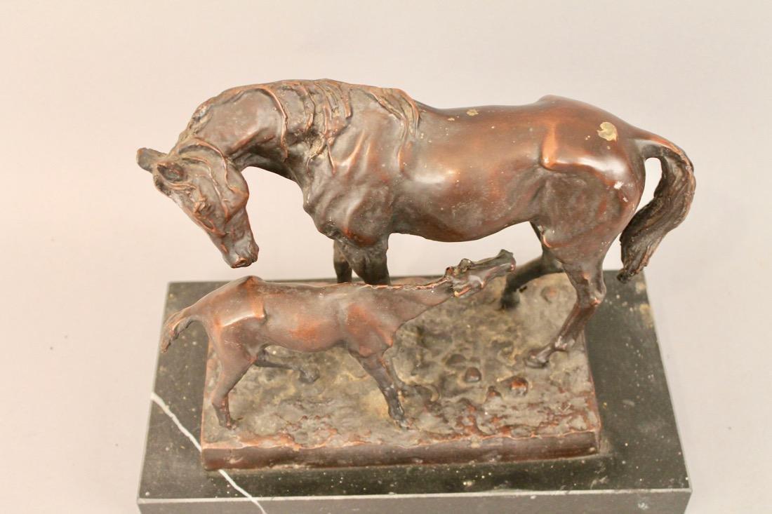 PERATNN? Bronze Horse Sculpture - 2