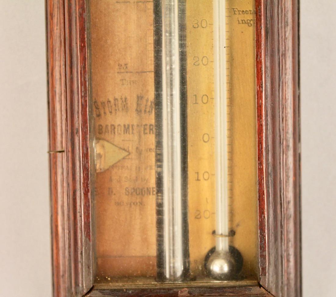 D. Spooner Stick Baromoter - 4