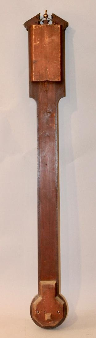 Dolland London Mahogany Stick Barometer - 5