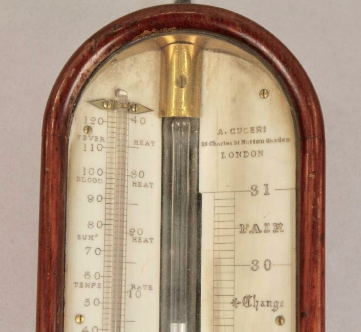 A. Guceri, London Stick Barometer - 3