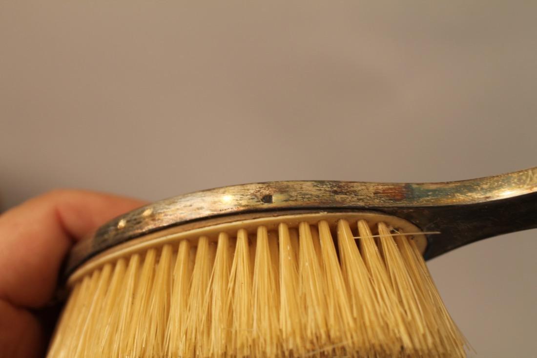 Shreve, Crump & Low Sterling Guilloche Vanity Set - 8
