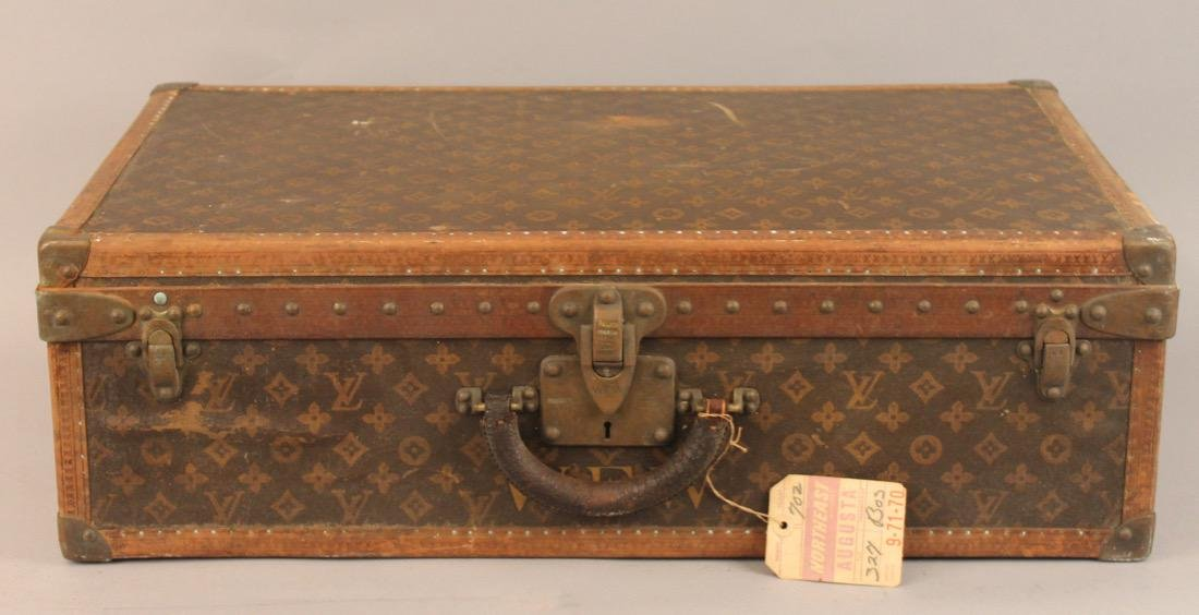 Vintage Louis Vuitton Travel Suitcase