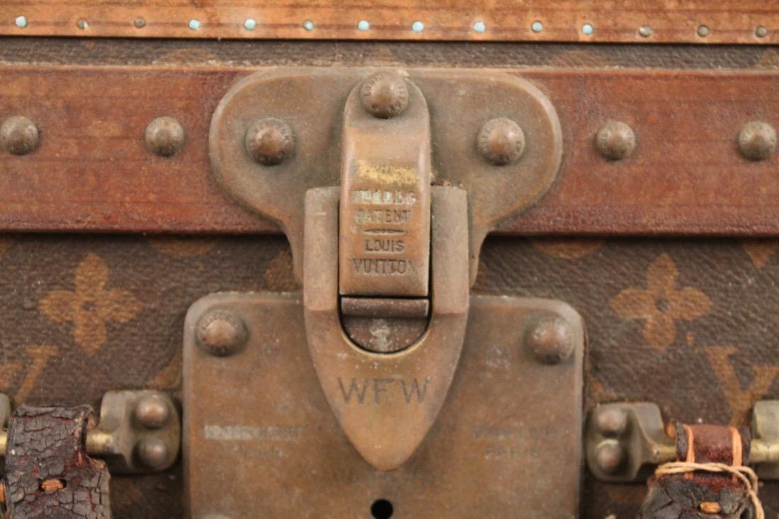 Vintage Louis Vuitton Travel Suitcase - 2