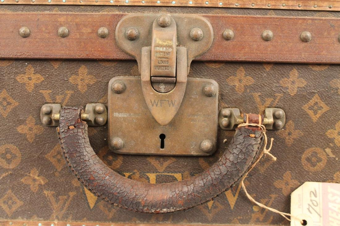 Vintage Louis Vuitton Travel Suitcase - 3