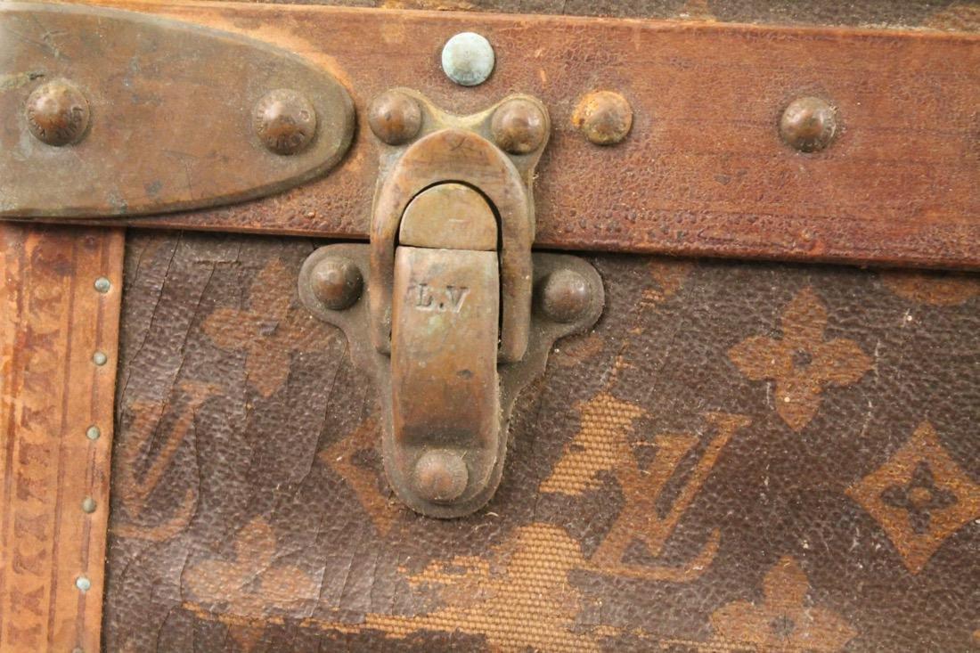 Vintage Louis Vuitton Travel Suitcase - 4