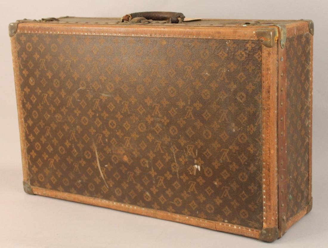 Vintage Louis Vuitton Travel Suitcase - 5
