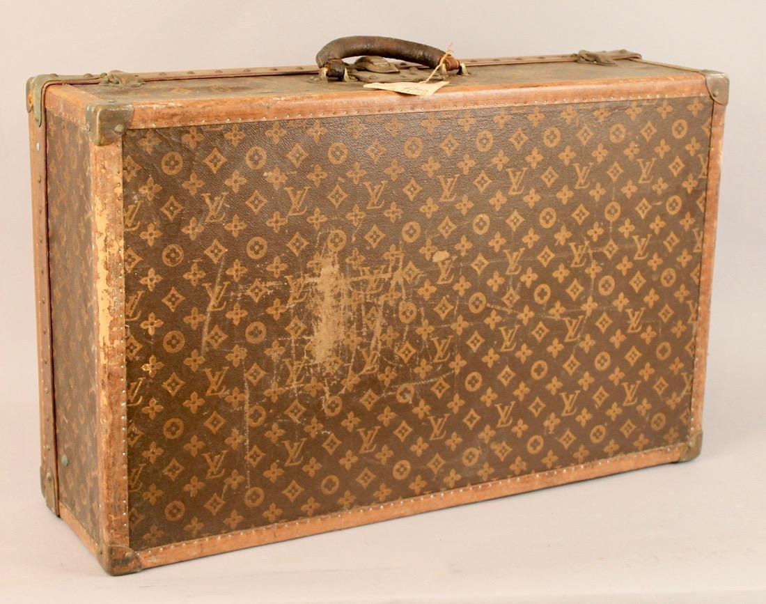 Vintage Louis Vuitton Travel Suitcase - 6
