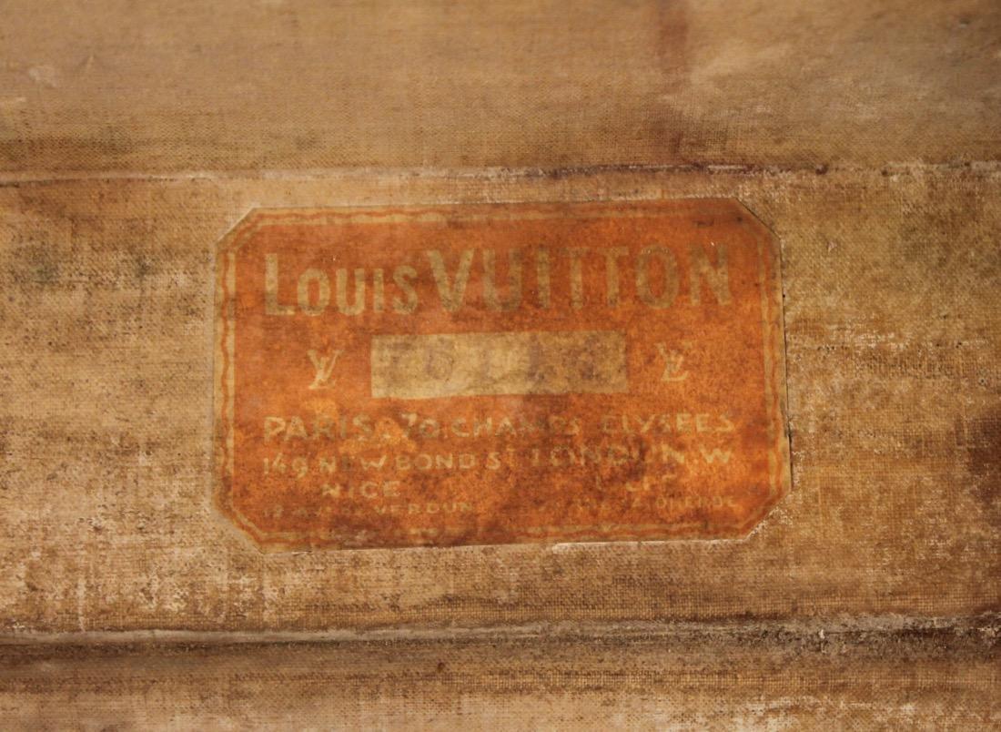 Vintage Louis Vuitton Travel Suitcase - 9
