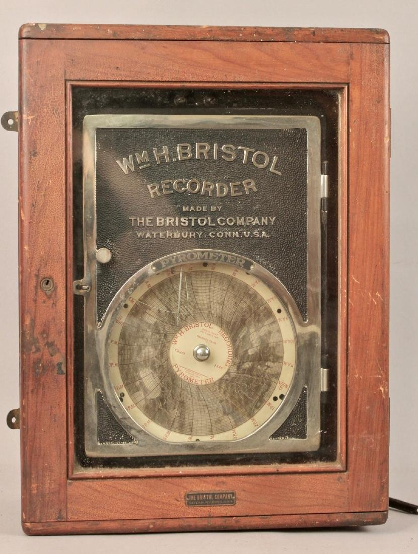 Pyrometer WM. H. Bristol Recorder