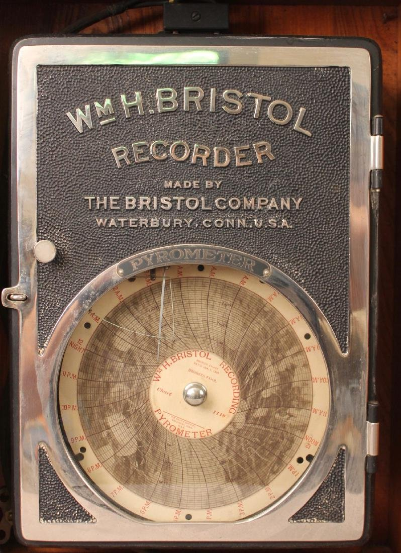 Pyrometer WM. H. Bristol Recorder - 4