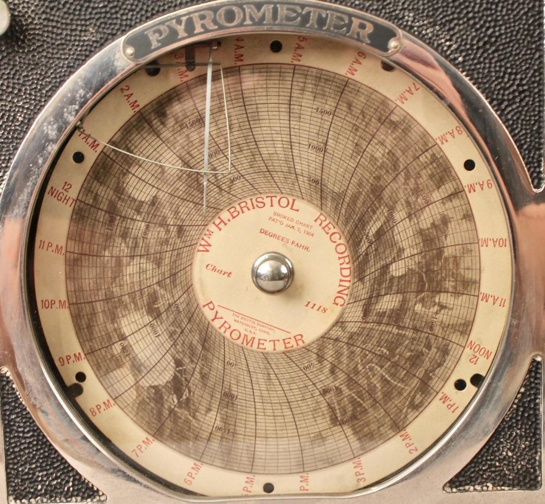 Pyrometer WM. H. Bristol Recorder - 5