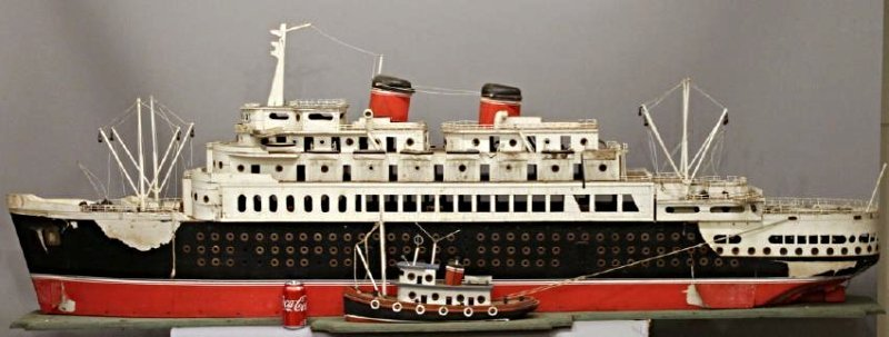 Massive Cruise Ship Boat Model