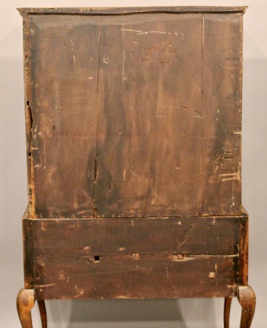 18th Century Queen Anne Maple Highboy - 9