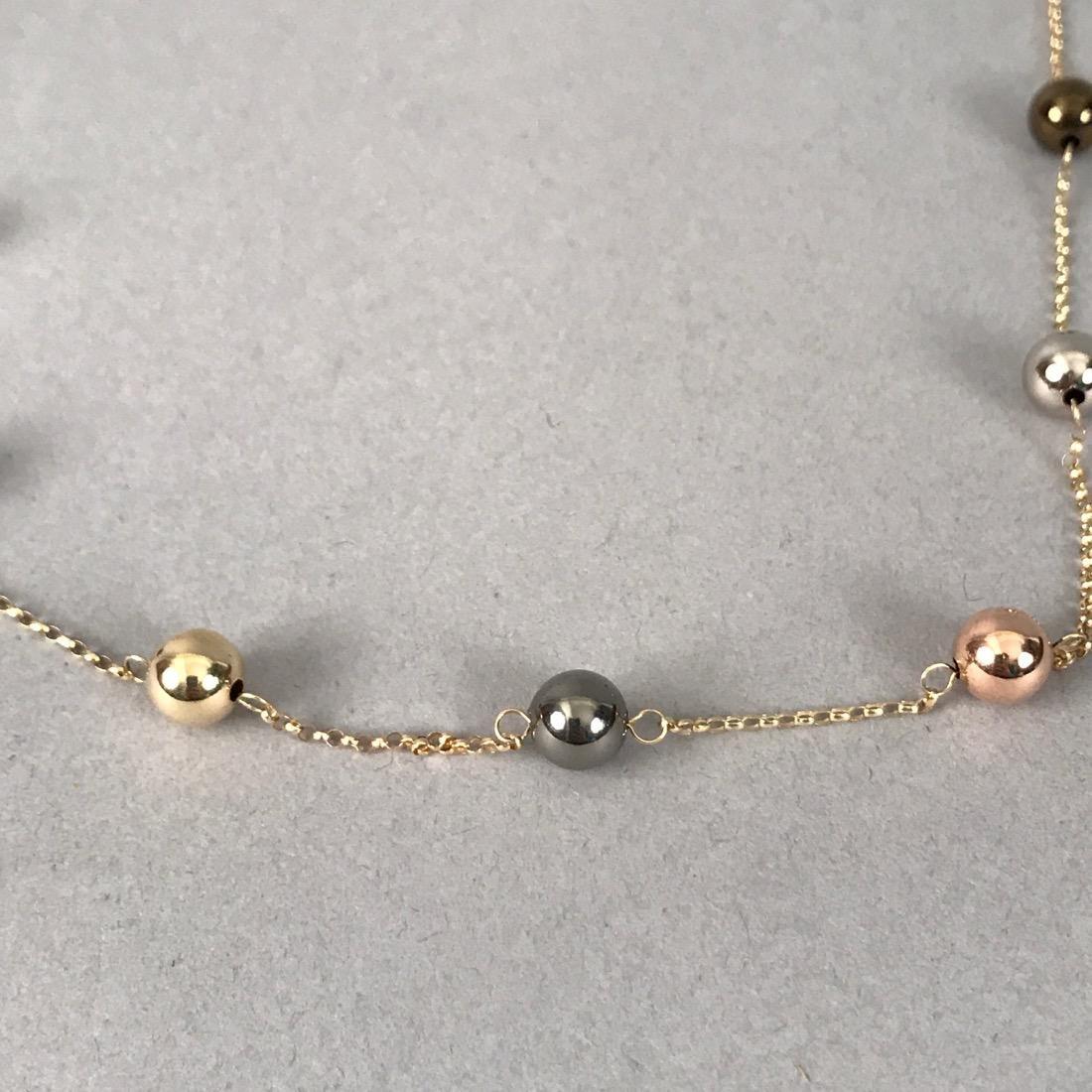 14K Gold JCM Necklace - 2