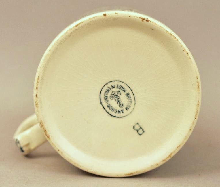 British Anchor Transferware Mug - 4