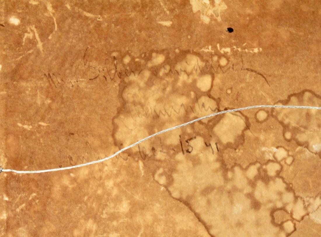 Oil on Board landscape signed on Reverse NY Label - 4