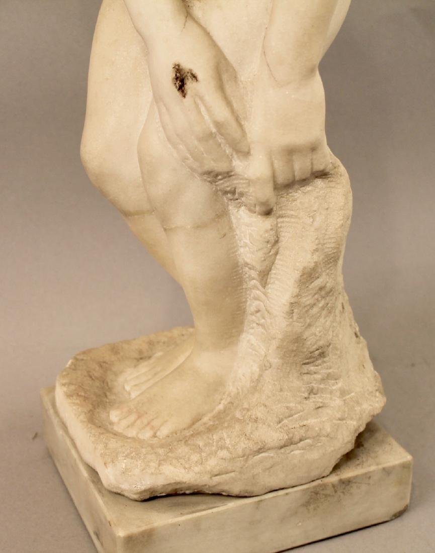 Alabaster Sculpture of Nude Woman - 3