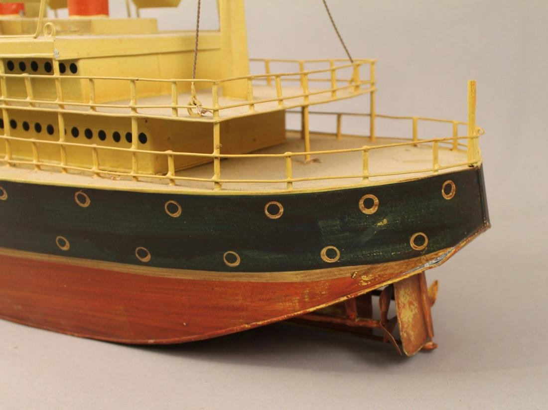Tin British Cruise Ship Model - 3