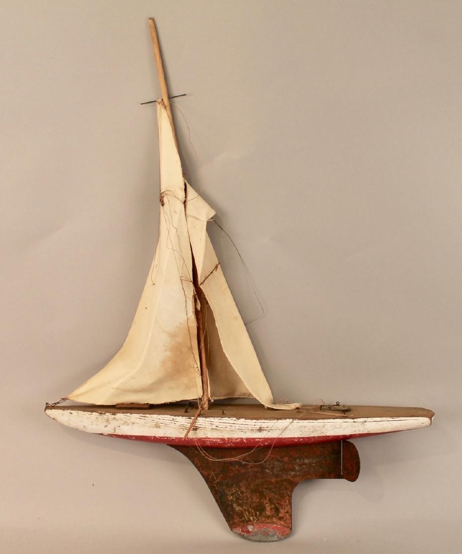 4 Vintage Boat Models - 5