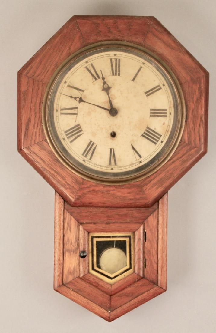 Oak Sessions Regulator Clock