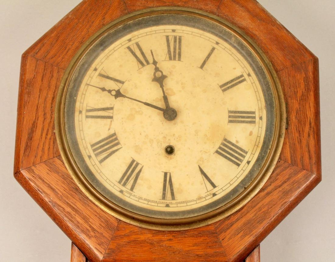 Oak Sessions Regulator Clock - 2