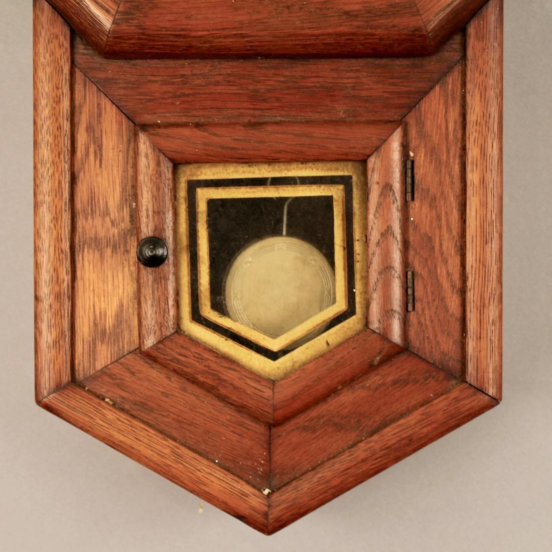 Oak Sessions Regulator Clock - 3