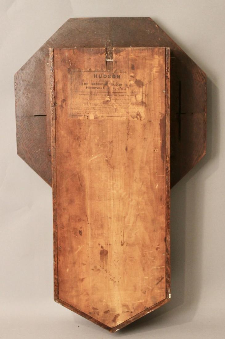 Oak Sessions Regulator Clock - 4