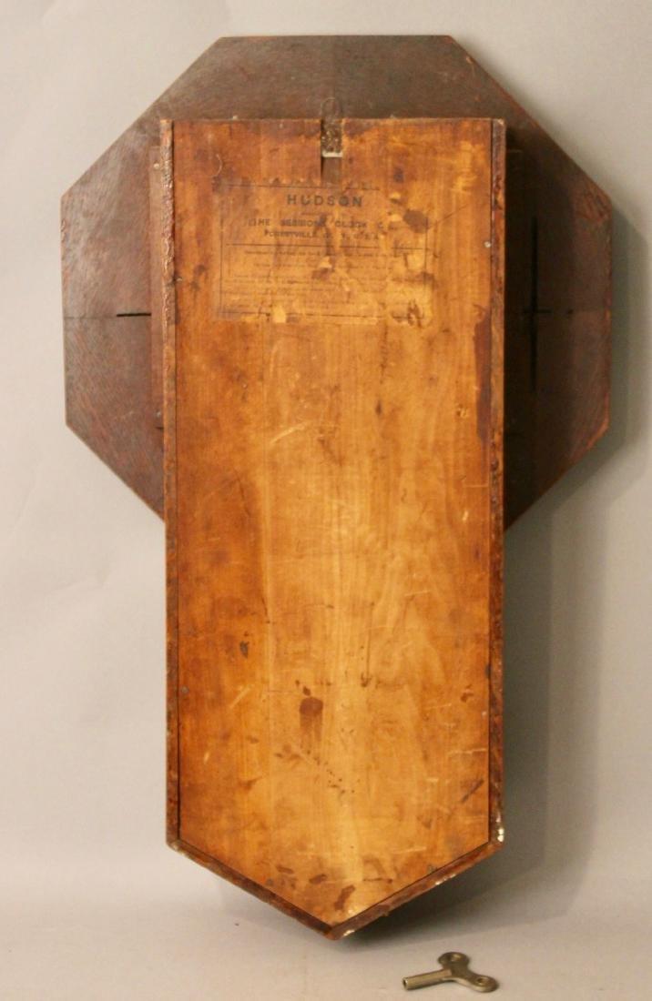 Oak Sessions Regulator Clock - 6