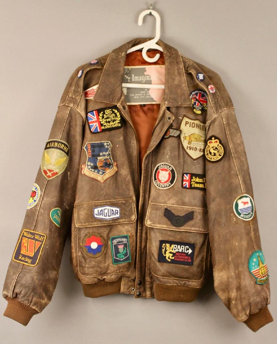 Vintage Imagination NY Leather Jacket