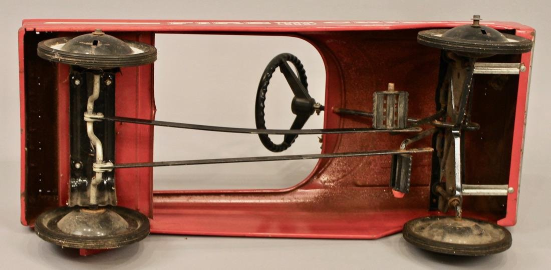 Vintage AMF Fire Chief Pedal Car - 5