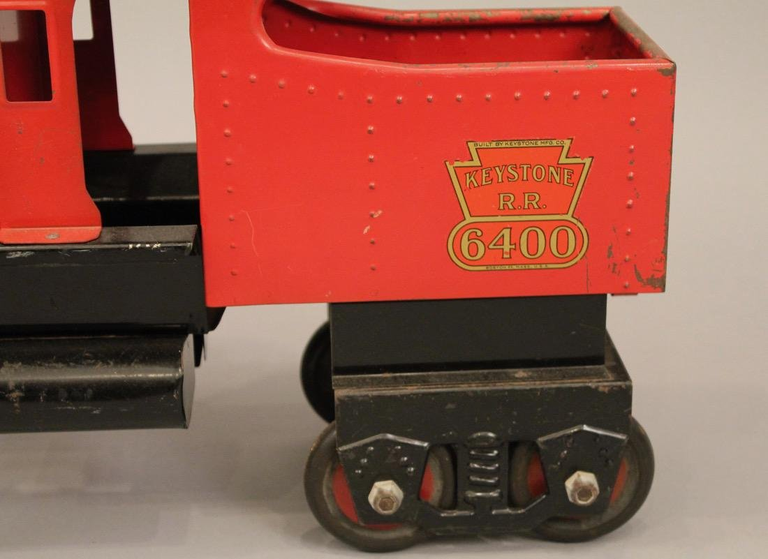 Keystone Railroad Childs Riding Toy Locomotive - 2