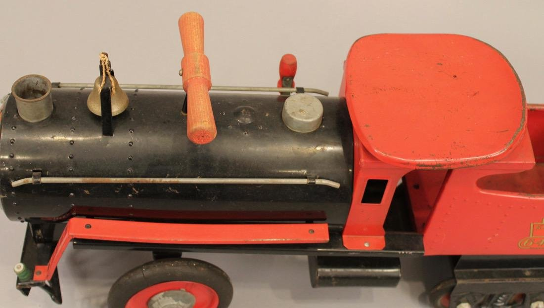 Keystone Railroad Childs Riding Toy Locomotive - 3