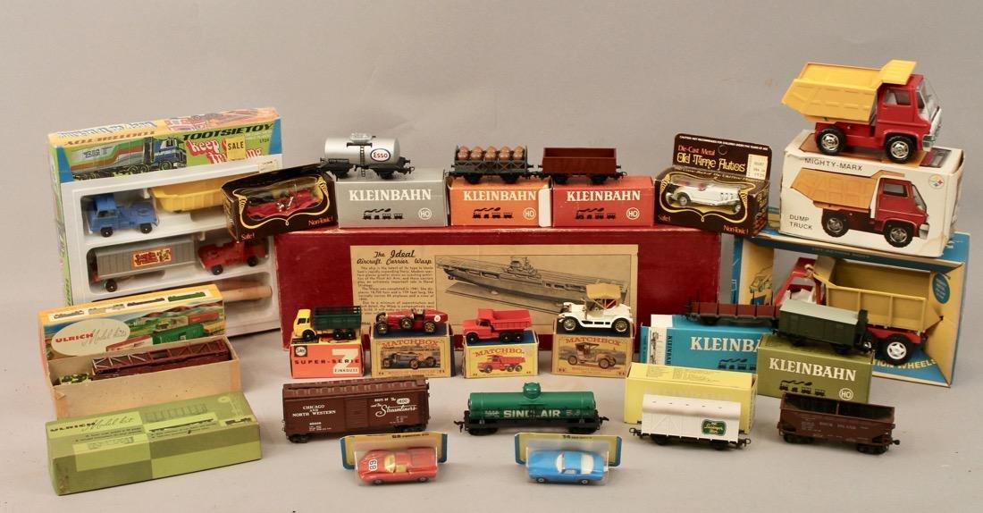 Lot vintage toys Kleinbahn, Marx, Matchbox, etcÉ